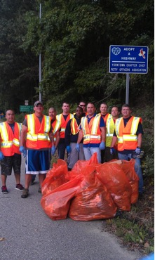 Highway Cleanup - 12SEP14-2